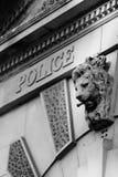 Construction historique de police Photos stock