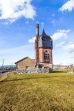 Construction historique de watertower des briques Images libres de droits