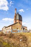 Construction historique de watertower des briques Images stock