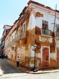 Construction historique du Brésil Photographie stock
