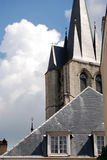 Construction historique (Mechelen) Image libre de droits