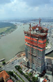 Construction In Ho Chi Minh City, Saigon Vietnam Stock Photo