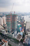 Construction In Ho Chi Minh City, Saigon Vietnam Royalty Free Stock Images