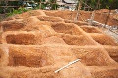 Construction hole Stock Photography