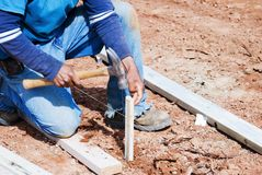 Construction/Home Building royalty free stock photography