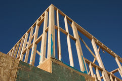 Construction Home Framing. Royalty Free Stock Images