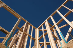 Construction Home Framing. Stock Images