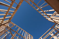 Construction Home Framing. Royalty Free Stock Image