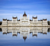 Construction hongroise du parlement, Budapest Image stock