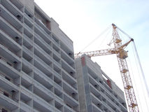 Construction of house Stock Photo