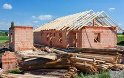 Construction house Stock Photos