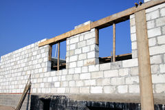 Construction of house Royalty Free Stock Images