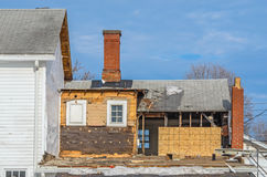 Construction on House Royalty Free Stock Image