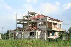 Construction house Stock Photo