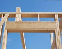 Construction of house, framework. Stock Image