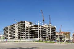 Construction house monolithic Stock Photo