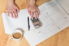 Construction and housing concept stock photo