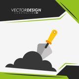 Construction icon design Royalty Free Stock Photo