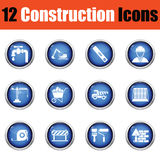 Construction icon set. Stock Images