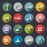 Construction icon set Royalty Free Stock Photo