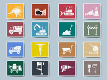 Construction Icon Set Vector Illustration Stock Image