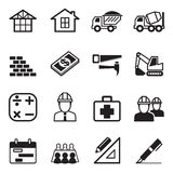 Construction icon Set 3. Vector Illustration Graphic Design royalty free illustration