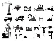 Construction Icon Set Vector Illustration Stock Photography