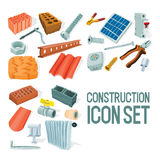 Construction icon vector illustration Royalty Free Stock Images