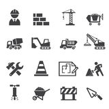 Construction icon Stock Images