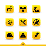 Construction icons 15...smooth series Stock Images