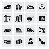 Construction icons Royalty Free Stock Photography