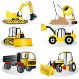 Construction icons 3 Stock Photography