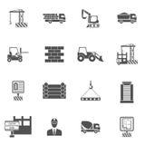 Construction Icons Flat Stock Photos