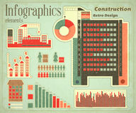 Construction icons and graphics Stock Photo
