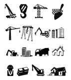 Construction icons Royalty Free Stock Photo