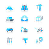 Construction icons | MARINE series Royalty Free Stock Images