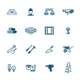 Construction icons | MICRO series Royalty Free Stock Image
