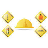 Construction icons Royalty Free Stock Image