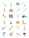 Construction  icons set. Set of 24 construction  icons Stock Images