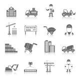 Construction Icons Set Stock Image