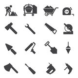 Construction Icons set Royalty Free Stock Image