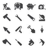 Construction Icons set Royalty Free Stock Image