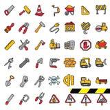Construction Icons set.Illustration EPS10 Stock Photography
