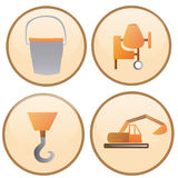 Construction icons Stock Photography