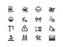 Construction  icons. Set of construction and renovation  icons Stock Photography
