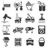 Construction icons Stock Photo