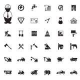 Construction Icons set Stock Photo