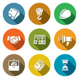 Construction Icons Set. Vector Illustration Stock Photos