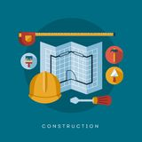 Construction icons and symbols Royalty Free Stock Photography