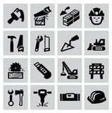 Construction icons Stock Photos